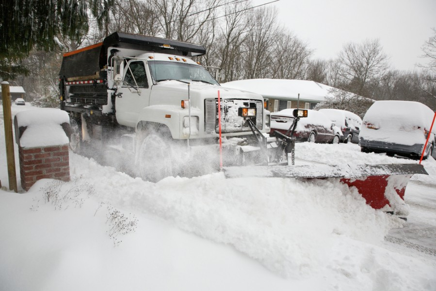Snow Plowing Columbus OH